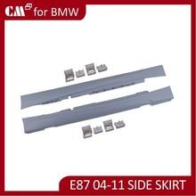 For BMW E87 M TECH 2004-2011 car accessory side skirt