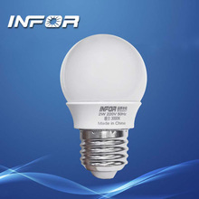 2W new design efficient led bulb