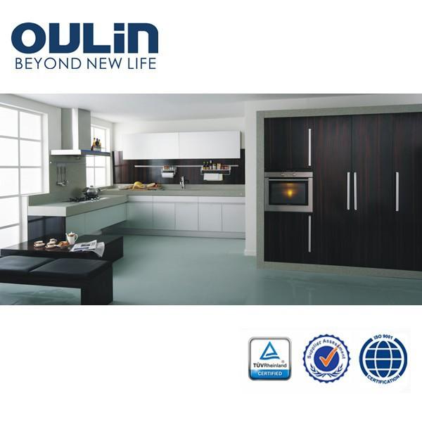 2014 modern modular aluminium kitchen cabinet doors design for Modular kitchen designs aluminium