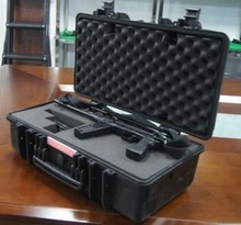 equipment plastic waterproof case with handle and wheels