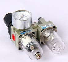 Pneumatic air filter+regulator lubricator AC2010-02 1/4 inch air filter SMC type AC series FRL Combination