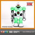 2014 nuevo juguete para los niños pilas robot con la luz y la música