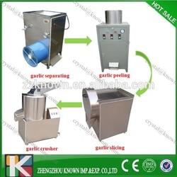 peeled garlic processing machine/garlic peeling production line/garlic clove peeling machine