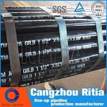 astm b36.10m black paint carbon welded tubes