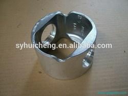 100% Original Silver hydraulic cylinder piston rod 3966721, ISLe 375 Piston