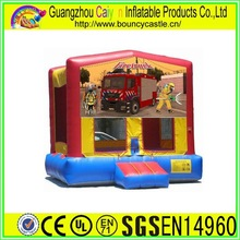 Fire Truck Inflatable Bouncer
