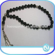 Muslim prayer beads agate beads in black color