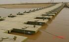 floating boat pontoon steel bridge