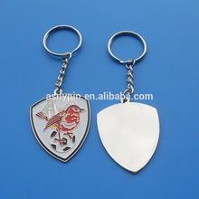 die cut shape gold flame keychain/keyring/keycharm/key fob/key holder