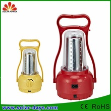 Hot sale rechargeable led solar lantern light from China