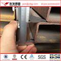 conformado en frío de sección cuadrada hueca de aceite galvanizerd o de tubos de acero