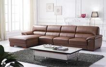 2015 imported italian furniture Italian leather sofa J822