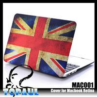 Custom design light weight hard plastic fancy tablet pc case for MacBook air