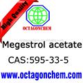 Alta qualidade 595-33-5 acetato de megestrol