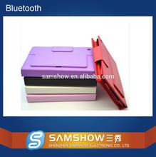 PU Leather Case Cover Stand w/ Silicone Bluetooth V3.0 Keyboard for iPad Mini bluetooth keyboard case, wireless keyboard