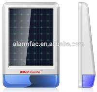 Wolf Guard wireless spot alarm external siren with wireless outdoor strobe light solar siren with solar light