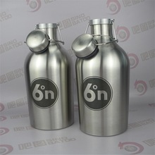 2L Mini Swing-top growler for beer equipment steel mash for microbrewery