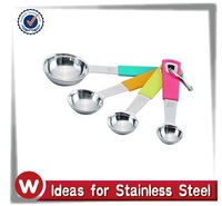 Good Grips Measuring Spoons, Stainless Steel, 4-Pc