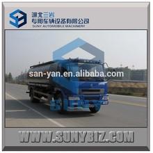 Euro 3 chemical liquid tanker truck 4*2 chemical tanker truck