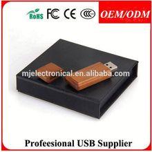 OEM 1GB - 64GB Wooden USB Pen promotional , Free sample