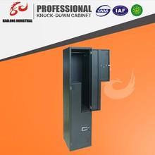 steel metal cupboard/two door storage locker/metal bathroom locker