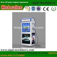 Steam card operated self service car wash coin / car washing machine