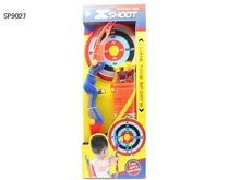 Baby toys, bow and soft arrow for chirldern, shooting target