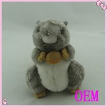 Custom squirrel stuffed animal plush toy