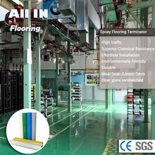 Industrial Grade Non-dusty Glass Fiber Epoxy Flooring concrete floor coating