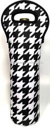 neoprene wine bottle tote bag holder sleeve carrier bag