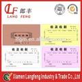 libre de la muestra del recibo de pago con una calidad superior en china