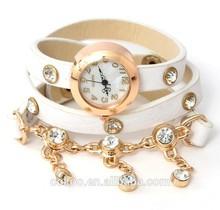 10 Colors Promotion Fashion Bracelet Watch Women Rope Watch Braided Leather Cord bracelet watch Lady wholesale