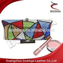 New Style Evening Bag Wholesale Clutch Bag Shinning Rhinestone and beaded Clutch Bag#3016-B