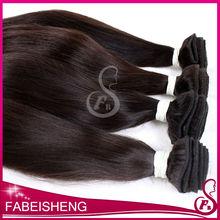 Top grade FBS aaaaaa wavy indian temple hair weave