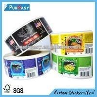 supply free samples printing useful food labels