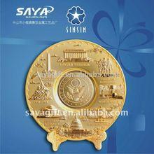 Made in China decorative metal lantern/car badge emblem/customized souvenir Competitive price