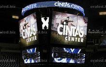 Free Big RGB LED screen fire emergency exit light company advertising 3D LED screen