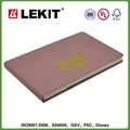 Composit livro com à prova d ' água capa de tecido