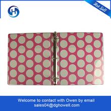 High end A5 fashion paper binder hot selling paper binder