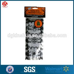 Walmart halloween design full coloring cellophane candy packing goodies bag