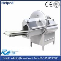 Cutting bone with meat cutting machine