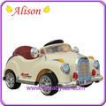 alison eski model araba c06206 6v elektrikli motor bebek bebek arabası oyuncak araba