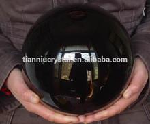 Natural negro obsidiana esferas de cristal de bolas de la curación, wholedales precio, las ventas caliente