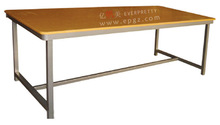 Steel Frame Library Writing Table/Library Reading Desk of Library Furniture