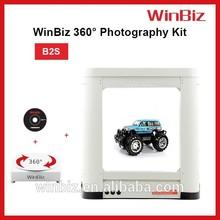 3D foto 360 degeree revolving display photography equipment
