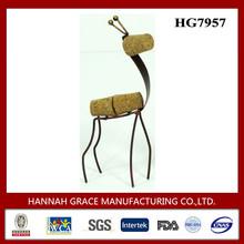 Decorative Giraffe Metal Cork Art And Craft