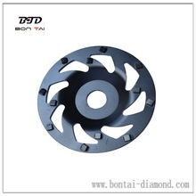 PCD diamond grinding cup wheels for thick coating removal