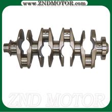 Racing crankshaft and custom crankshaft