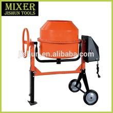 180L concrete mixer with round handle