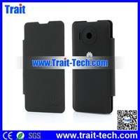 Flip PU Leather &PC Battery Back Cover Case For Huawei Ascend Y300 U8833